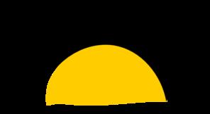 Sunset Clip Art at Clker