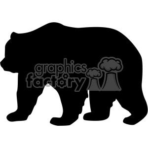 Mama bear vector.