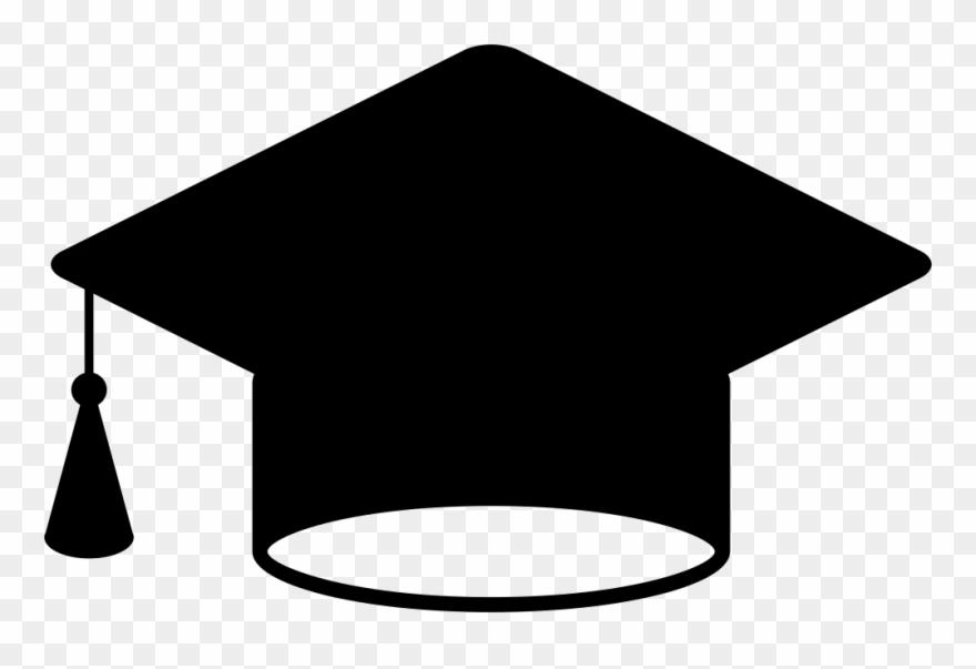 Clip art graduation hat.