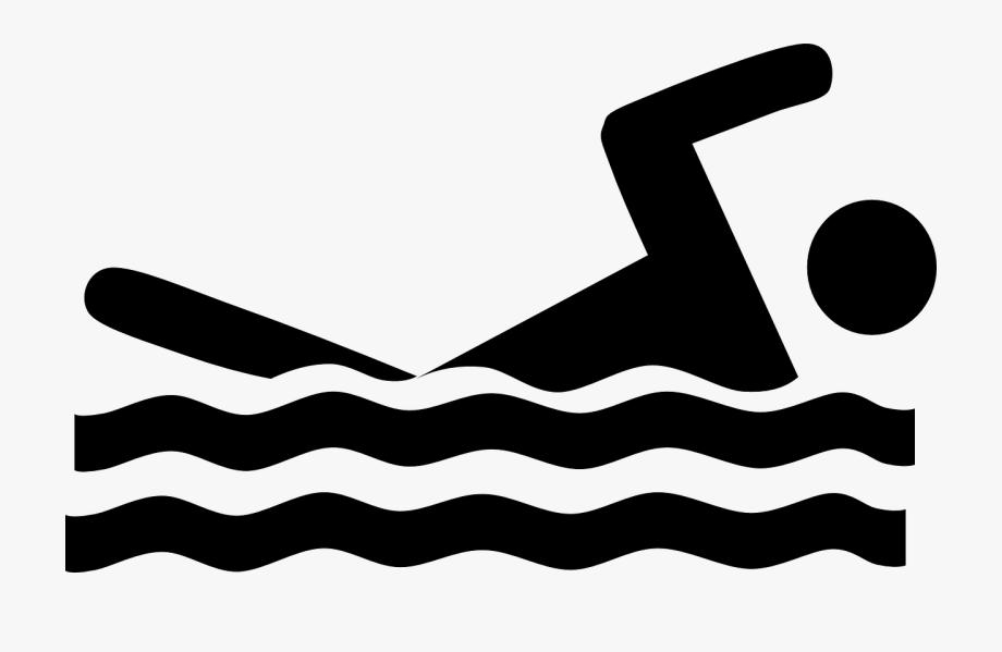 Swimmer swimming water.