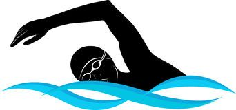 Swimming clip art.