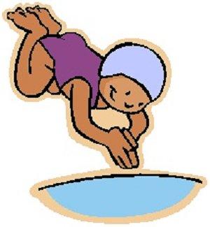 Swimming swim and.