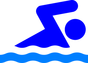 Swimming Person Clip Art at Clker