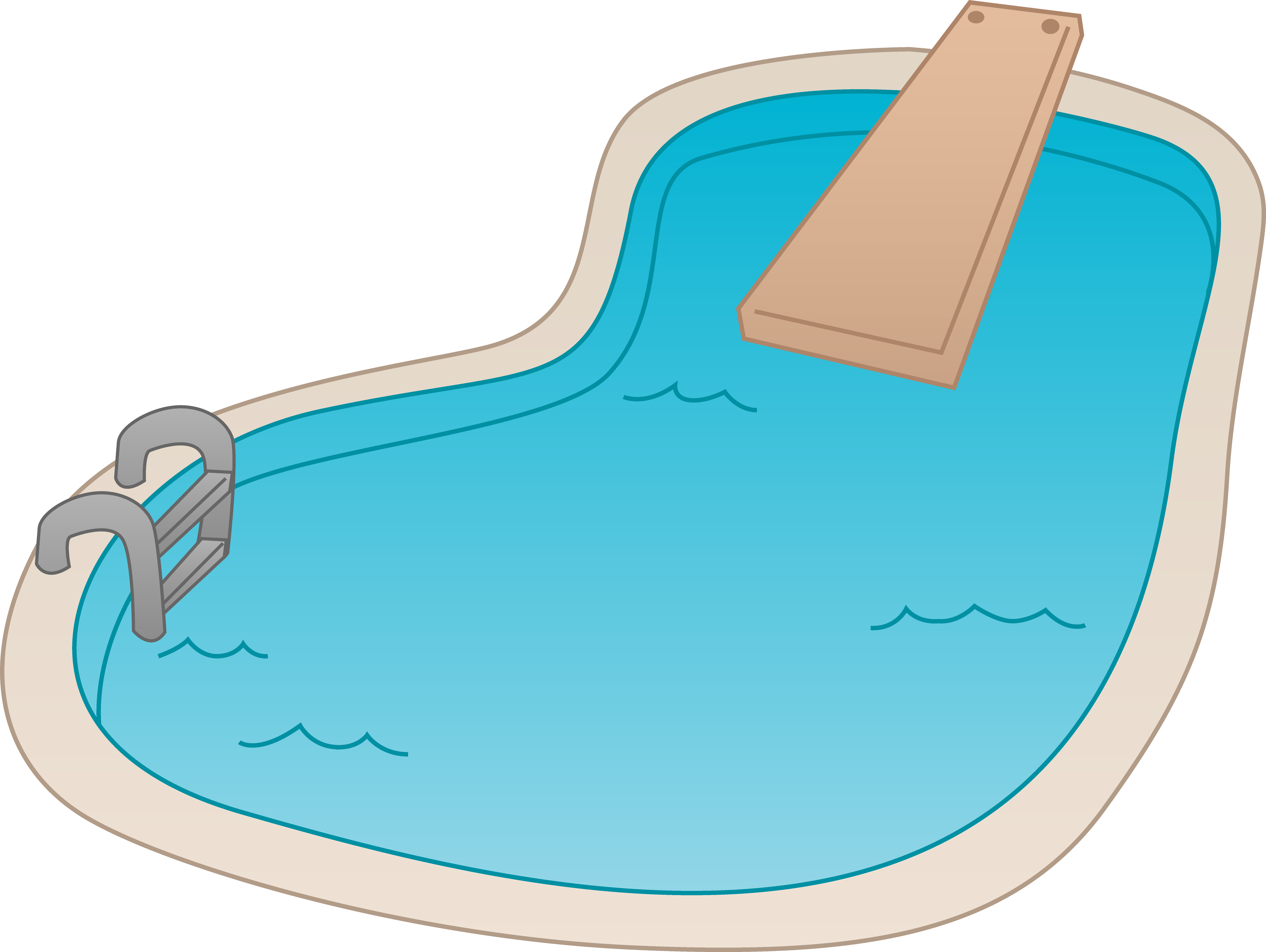 Swimmer clipart pool.