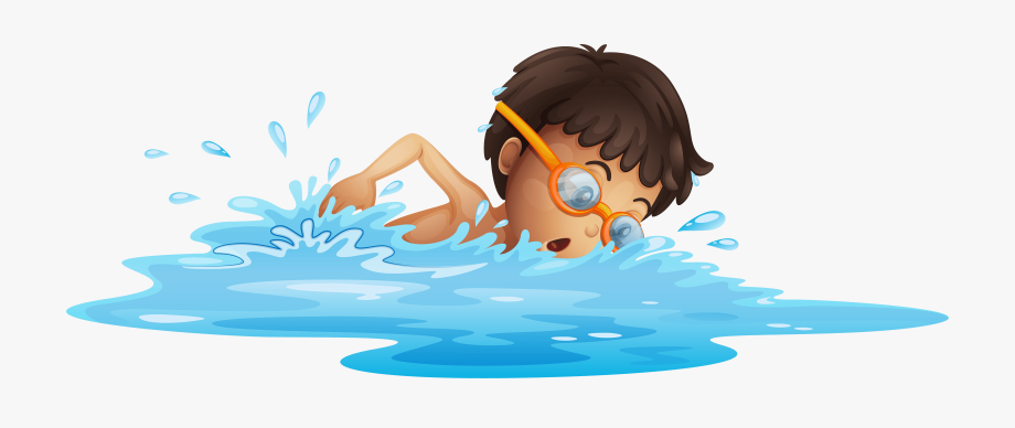 Swimming swimming clipart.