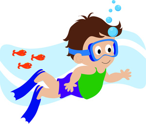 Free Swimming Clipart Pictures