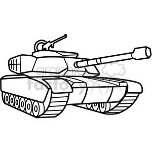 tank clipart black