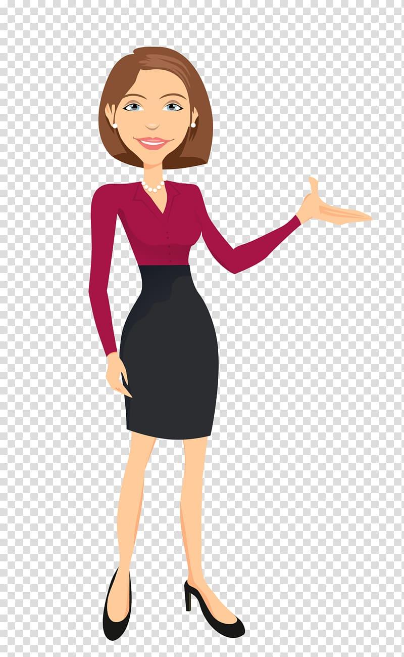Animated film Storyboard Television, Teacher female