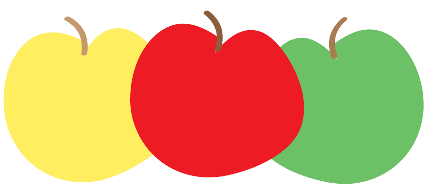Free Apple Clipart and printables for art projects, teachers