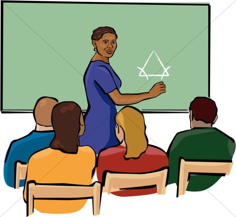 African american teacher.