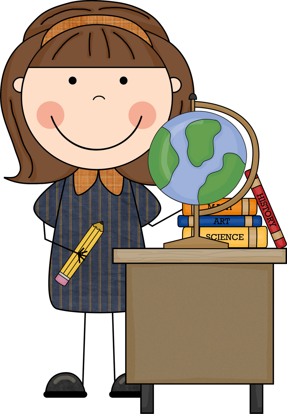 Free download First Grade Teacher Clipart for your creation