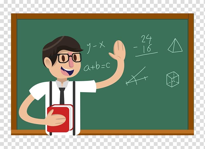 Teacher illustration teachers.