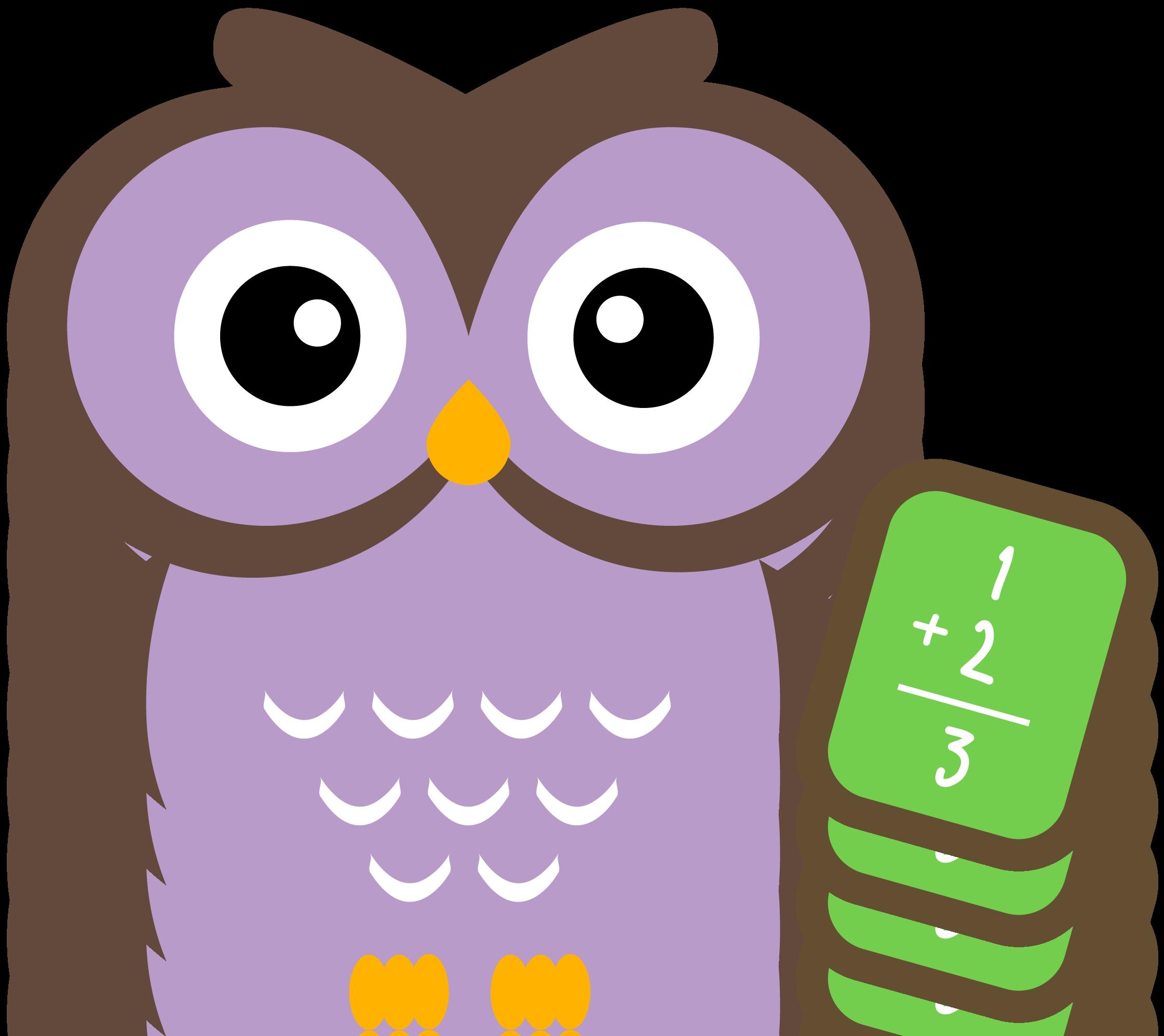 Owl math clip.