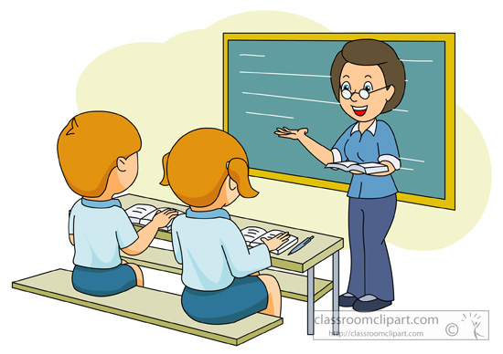 Teacher and student.