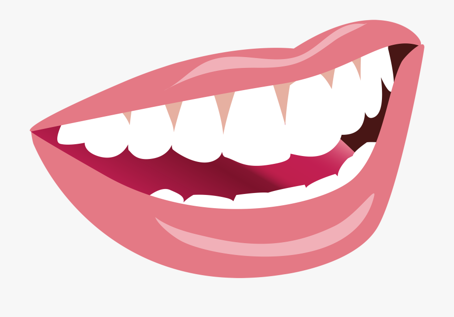 tooth clipart transparent background smile
