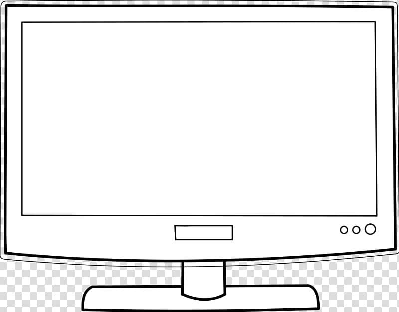 White flat screen.