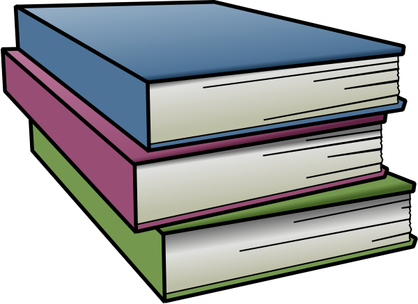 Free textbook cliparts.