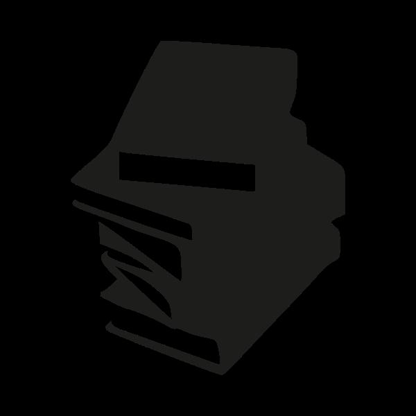 Textbook clipart vector.