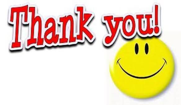 Thank you smiley.