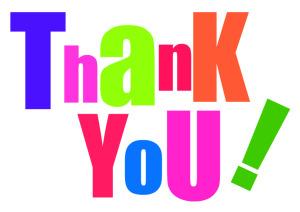Teacher appreciation thank.