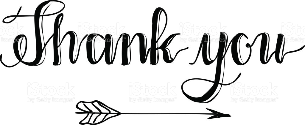 Special thanks clipart.