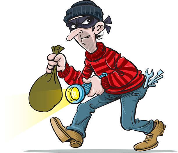 Thief clipart