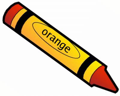 See orange crayon.