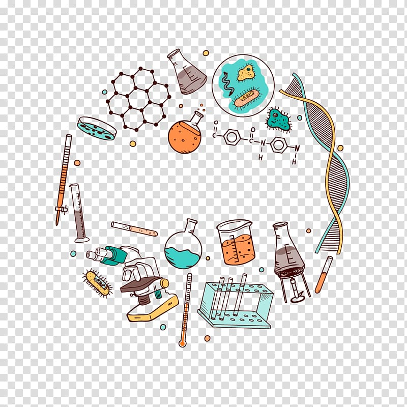 Paper science sticker.
