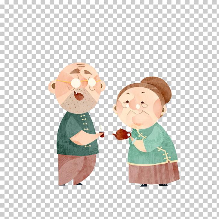 Grandfather tea elderly.