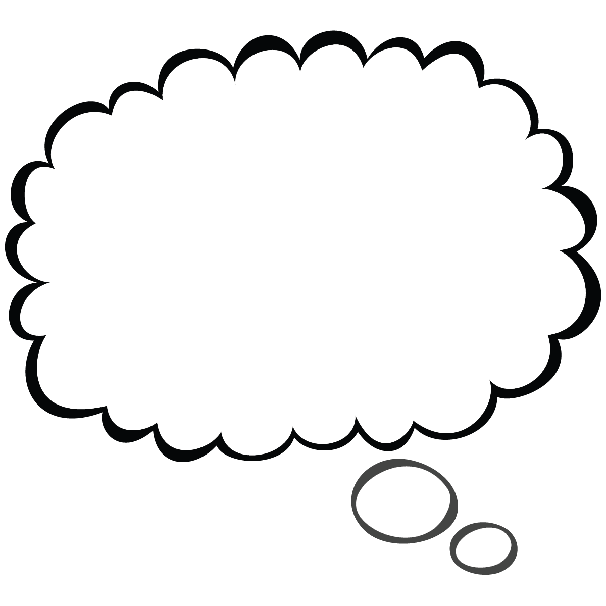 Thought bubble png.