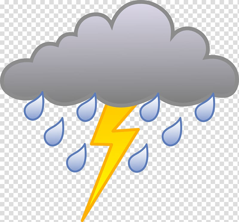 Thunderstorm rain cloudy.