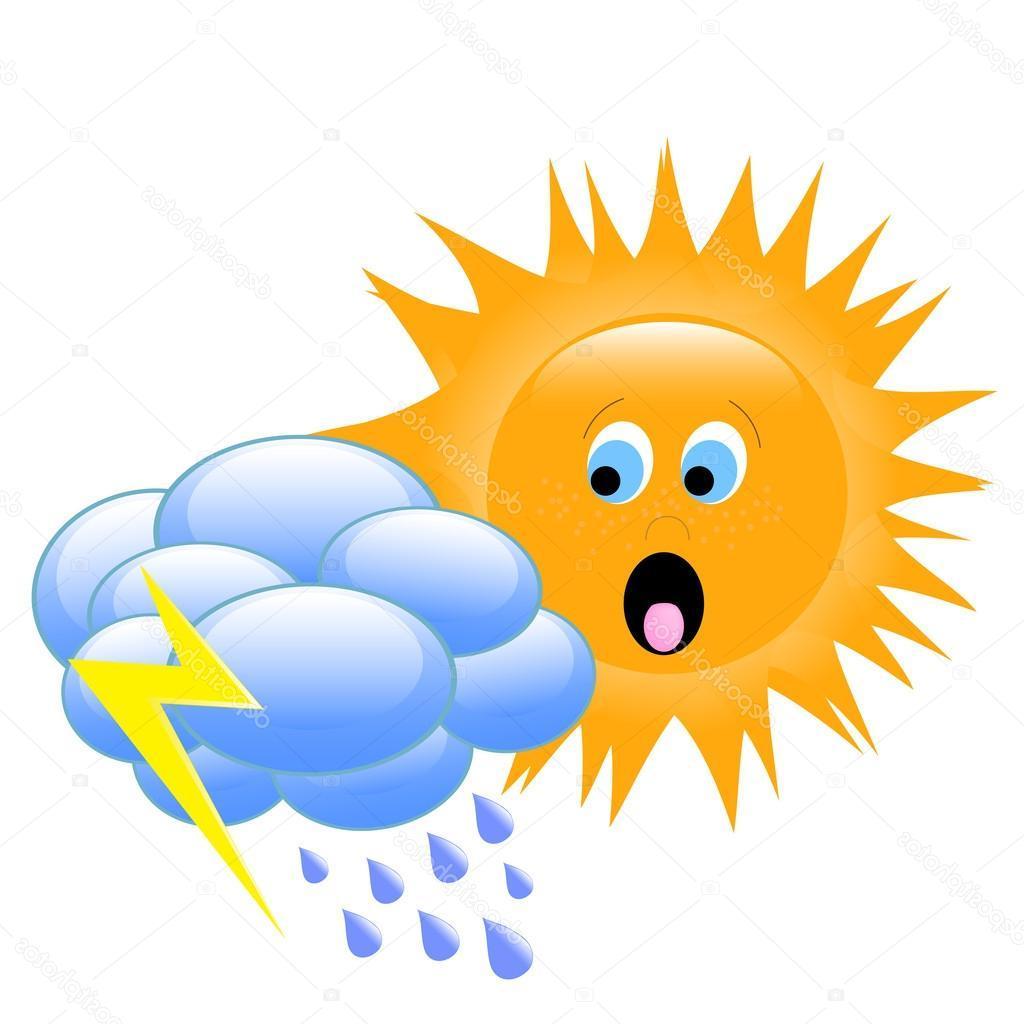 Sun And Rain Clipart
