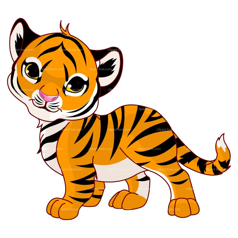 Tiger clipart animations.