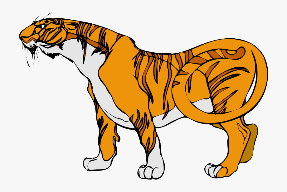 Tiger clipart images.