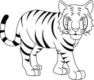 Free tiger cliparts.