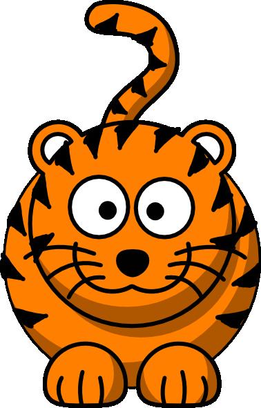 Free cartoon tiger.