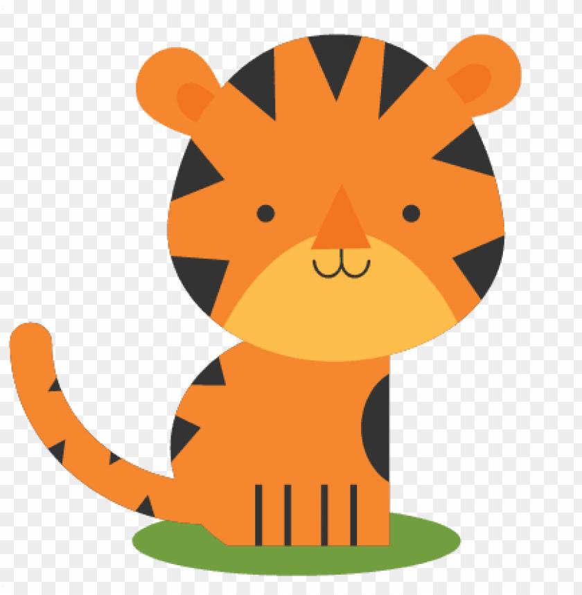 Tiger cute png.