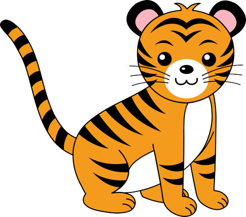 Free cute tiger.