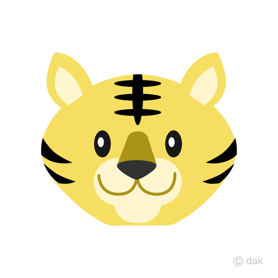 Free simple tiger.