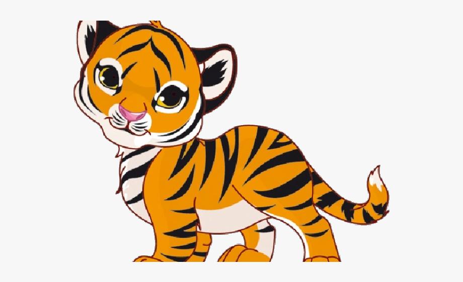 White tiger clipart.