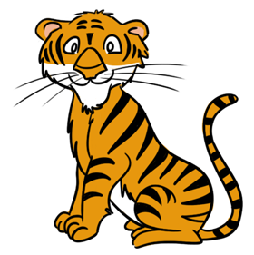 Tiger png transparent.