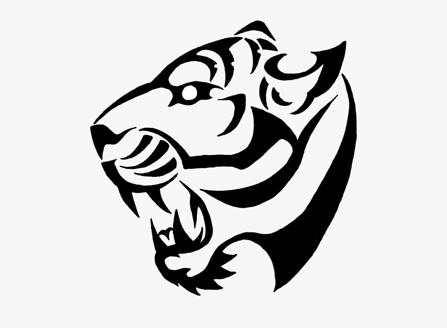 Tiger scratch png.