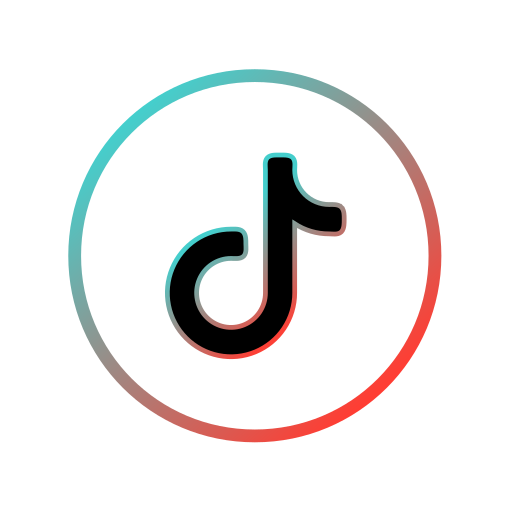 Tiktok, logo Free Icon of Internet