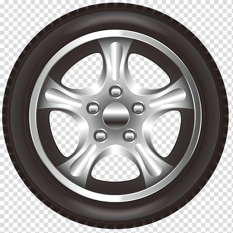 Car Wheel Tire Rim, Front car wheel hub transparent