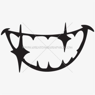 Transparent background teeth.