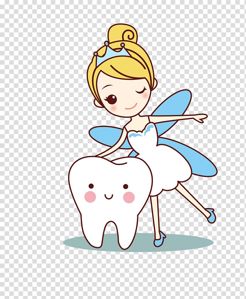 Tooth fairy tooth.