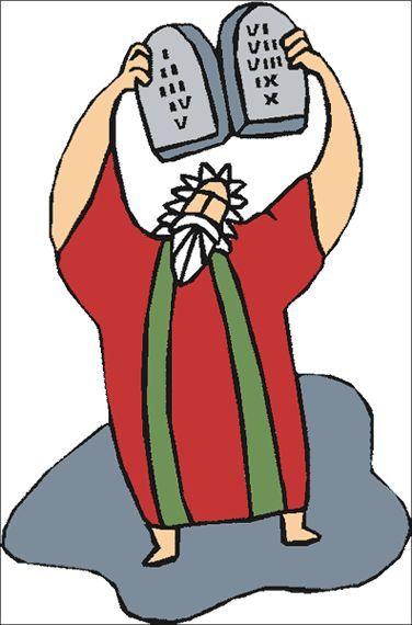 Moses On Mount Sinai Clip Art