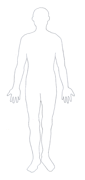 body outline clipart medical