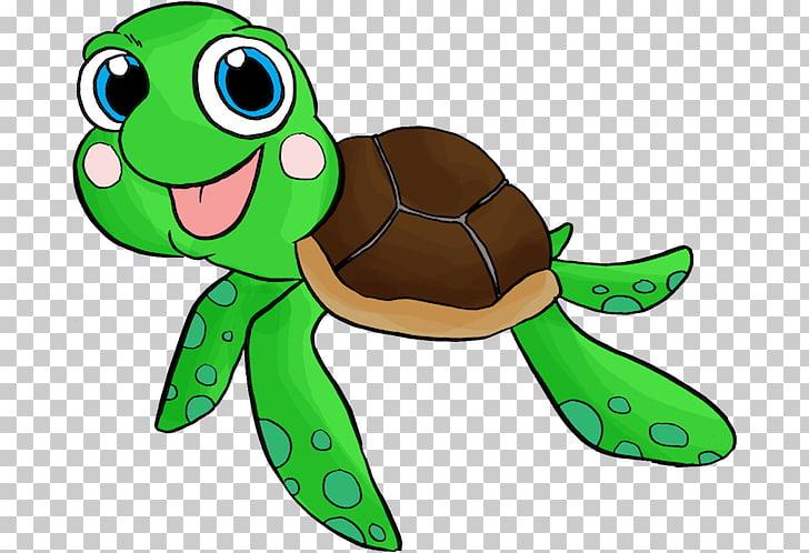 Sea turtle infant.