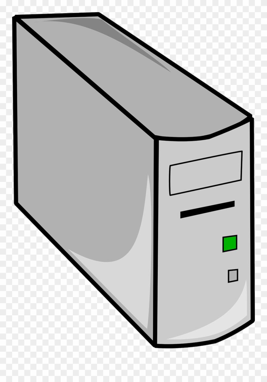 Computer Tower Clip Art Clipart Computer Cases